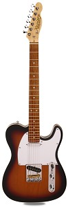 PRO840 Solid Alder, Binding, Sunburst Kwikplug Equipped Rosewood