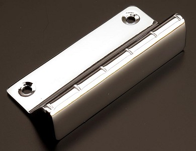 Lap Steel Chrome Metal Nut- Works with ANY scale length!