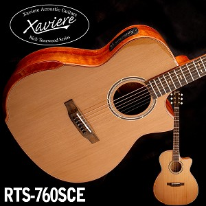 Spalted Maple Xaviere CEDAR top Premium Acoustic/Electric Cutaway All Wood Construction