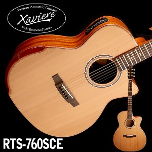 Zebrawood Xaviere CEDAR Top Premium Acoustic/electric Cutaway All Wood Construction