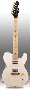 "Slick SL55 Tele Body, ""G"" Scale Neck, GF'Trons, Aged White Maple Fingerboard"