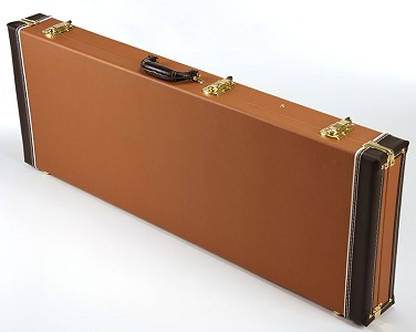 PREMIUM 1960s Style Brown Hardshell cases fits Strat/Tele bolt-on Guitars
