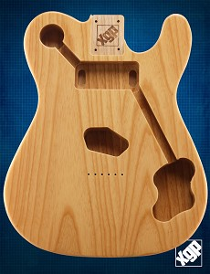 "XGP Premium USA ASH ""Custom TE"" Body Clear Gloss"