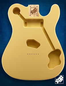 "XGP Premium Alder ""Custom TE"" Body Vintage Cream"