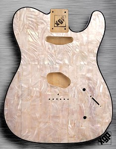 XGP REAL PEARL SHELL tele® Style Body 2 Single Coils