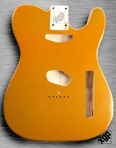 XGP Aztec Gold Metallic Vintage Spec Tele® Body