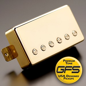 KP - Crunchy Pat High Output Humbucker, Gold - Kwikplug™ Ready