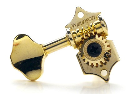 18:1 Wilkinson GOLD 3x3 Waverly Style Vintage Tuners