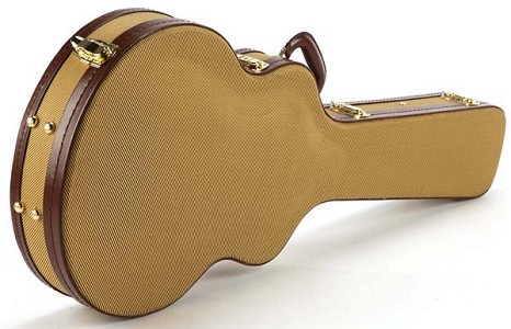Tweed Deluxe Hardshell Case fits SG Guitars