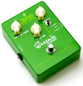 "NEW DESIGN! Greenie Classic Distortion 4558 ""Tube Screamer"""