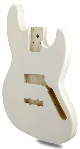 METAFLAKE SPARKLE White Jazz Bass Lightweight Body