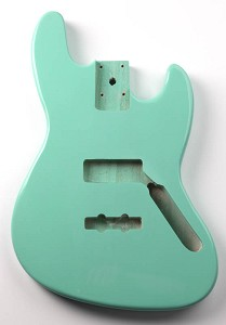 Jazz Bass Lightweight Body Surf Green Finish