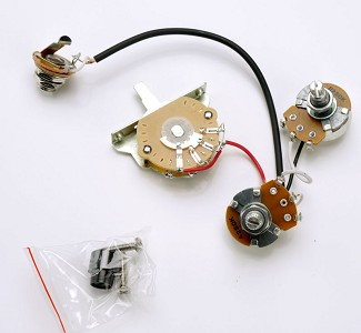 Complete Wiring Harness Pre-Assembled- USA Switch - Fits Telecaster®