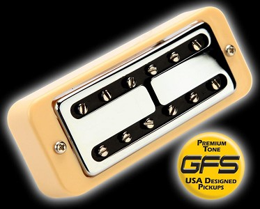 Bridge Liverpool Minitron Humbucker Vintage Wound P0- Soapbar mount  (COPY)