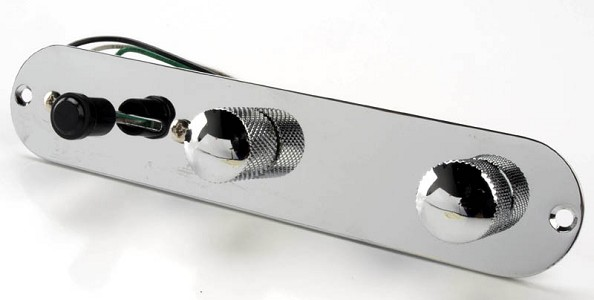 Pre-Assembled Tele® style plate with knobs