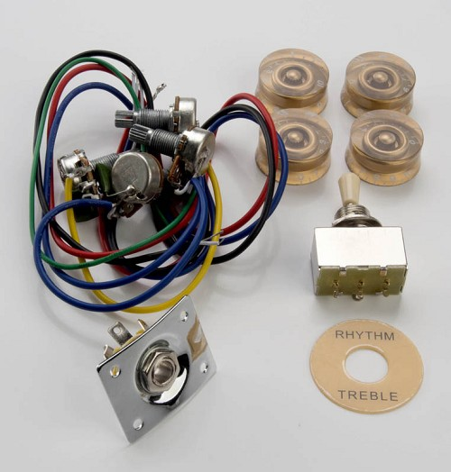 Awesome Complete Lp Sg Style Wiring Kit Wiring 101 Hateforg