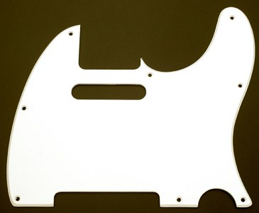 1955 Style Classic Single Ply Pickguard, Fits Telecaster®