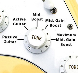 """Clapton"" style mid boost circuit- Drive your amp!"