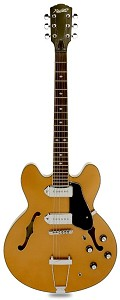 XV-910 Metallic Gold Semi Hollow GFS Alnico Dogears