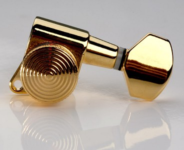 Now STAGGERED! Gotoh Style Locking Tuners- Sperzel Style- GOLD