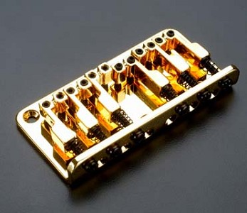 Top Mount Hardtail Bridge fits Teles®, Squier® 51 GOLD