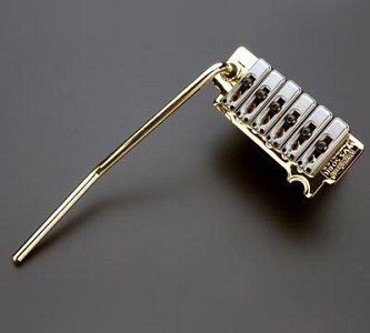 GOLD Wilkinson Stainless Saddle tremolo- Fits ALL Strats®
