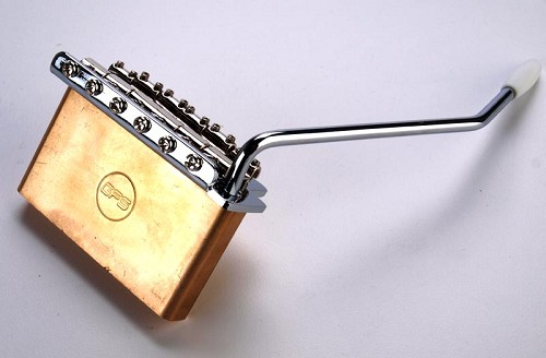 USA Spaced Solid Brass Block Tremolo- Complete Kit