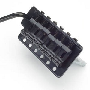 Vintage Black Tremolo fits Mexican, Korean, Chinese made guitars
