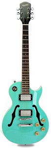XV-550 Semi Hollow Carved Top Two Tone Surf Green