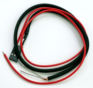 "15"" 3-Conductor Cable for REDactive Pickups solder installation -Blem"