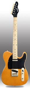 Slick SL51 Aged Butterscotch Dual Single-Coil Pickups, Maple Fingerboard