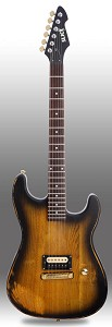Slick SL54 Distressed Vintage Sunburst Single Humbucker Pickup