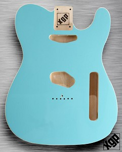XGP Professional Double Bound Single-Cutaway Body Daphne Blue