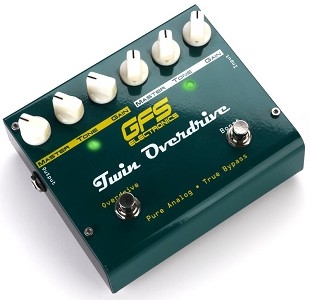 Twin Overdrive- 2 Channel Overdrive Pedal- TS-808/TS-9 Tones