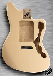 XGP Professional Offset Swamp Ash Body Fits Strat® Tremolo Vintage Cream