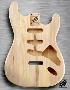 XGP Professional Strat® Body Unfinished Solid Swamp Ash