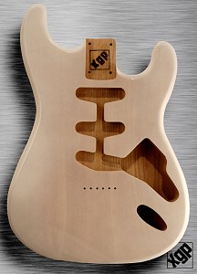 XGP Professional Double Cutaway Swamp Ash Body Mary Kaye White Hardtail!