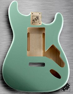 "XGP ""Swimming Pool Route"" Strat Body Surf Green"