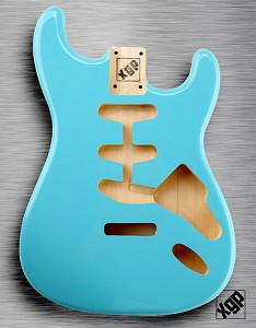 XGP Professional Double Cutaway Body Daphne Blue