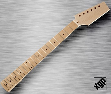XGP Professional Strat® Style Neck Maple Fingerboard Unfinished Paddle Headstock