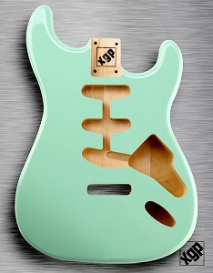 XGP Professional Double Cutaway Body Surf Green