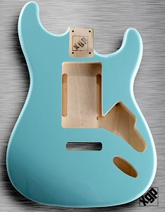 "XGP ""Swimming Pool Rout"" Professional Strat Body Daphne Blue"