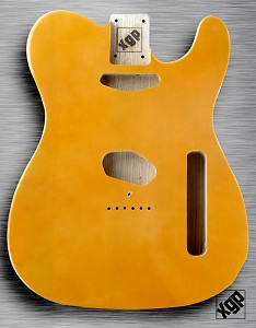 XGP Professional Tele Body Butterscotch Solid Swamp Ash