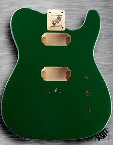 XGP Professional Single-Cutaway Body 2 Humbuckers British Racing Green