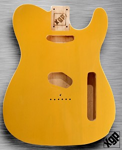 XGP Professional Double Bound Tele Swamp Ash Body Butterscotch