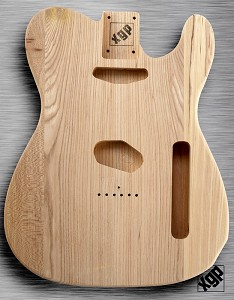 XGP Professional Single-Cutaway Body Unfinished Solid Swamp Ash