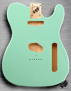 XGP Professional Single-Cutaway Body Surf Green