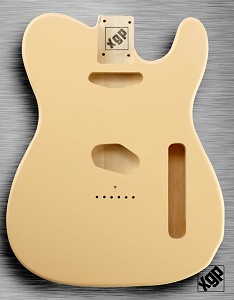 XGP Professional Tele Body Vintage Cream