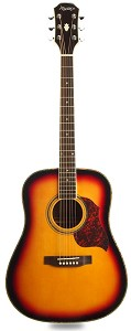 XV_130S - Sunburst Solid Spruce Top Mahogany back and sides with Binding