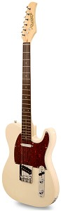 XV840 Solid Alder DOUBLE Bound Body, Vintage Cream, Rosewood Fingerboard